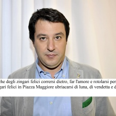 "© Gian Mattia D'Alberto/LaPresse 25-11-2011 Milano spettacolo trasmissione ""L'ultima parola"" nella foto: Matteo Salvini, Europarlamentare © Gian Mattia D'Alberto/LaPresse 25-11-2011 Milan ""L'ultima parola"" tv show in the photo: Matteo Salvini"